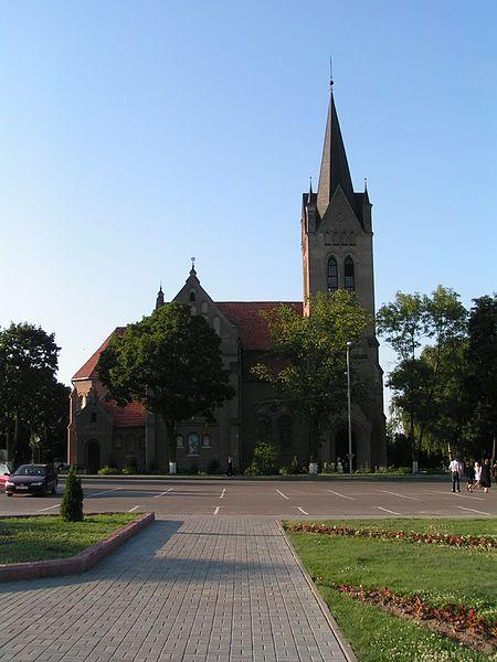 Костел Воздвижения Святого Креста город Вилейка
