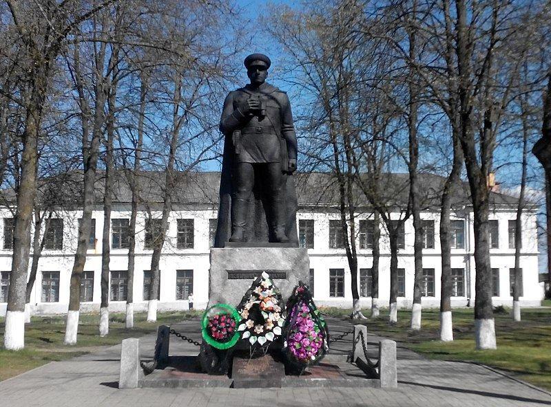 Памятник Ази Асланову город Вилейка