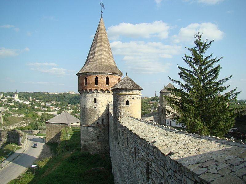Башня Каменец Подольский