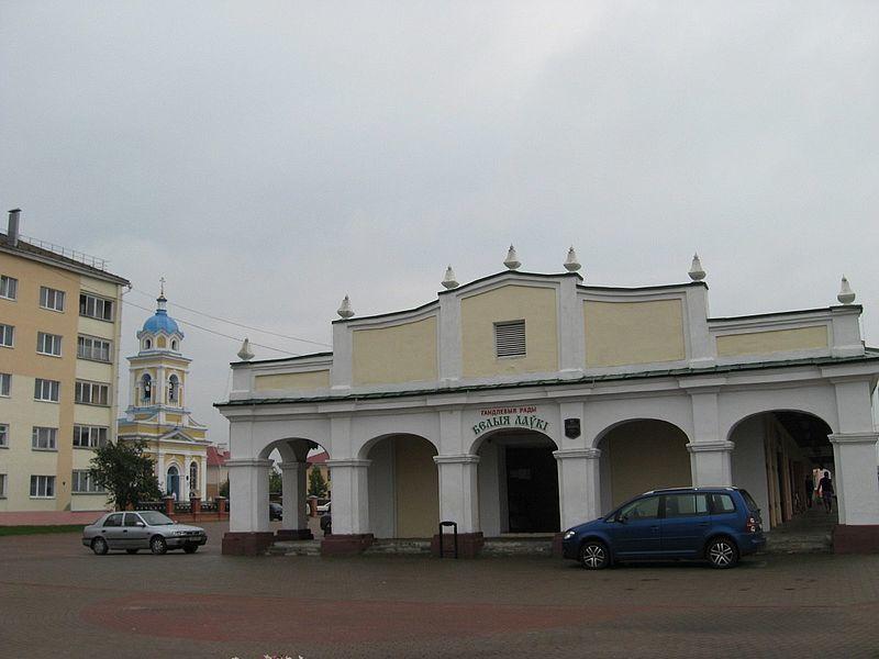 Белые лавки город Пружаны Белоруссия
