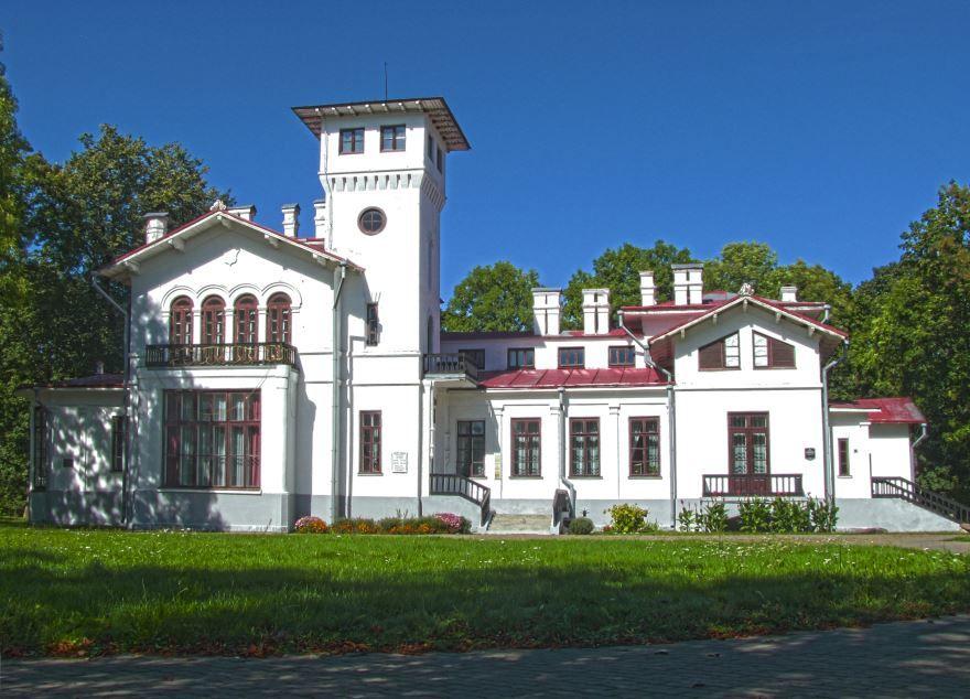 Смотреть красивое фото бывшая городская усадьба город Пружаны Белоруссия