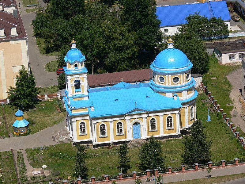 Скачать онлайн бесплатно лучшее фото Собор Александра Невского города Пружаны в хорошем качестве