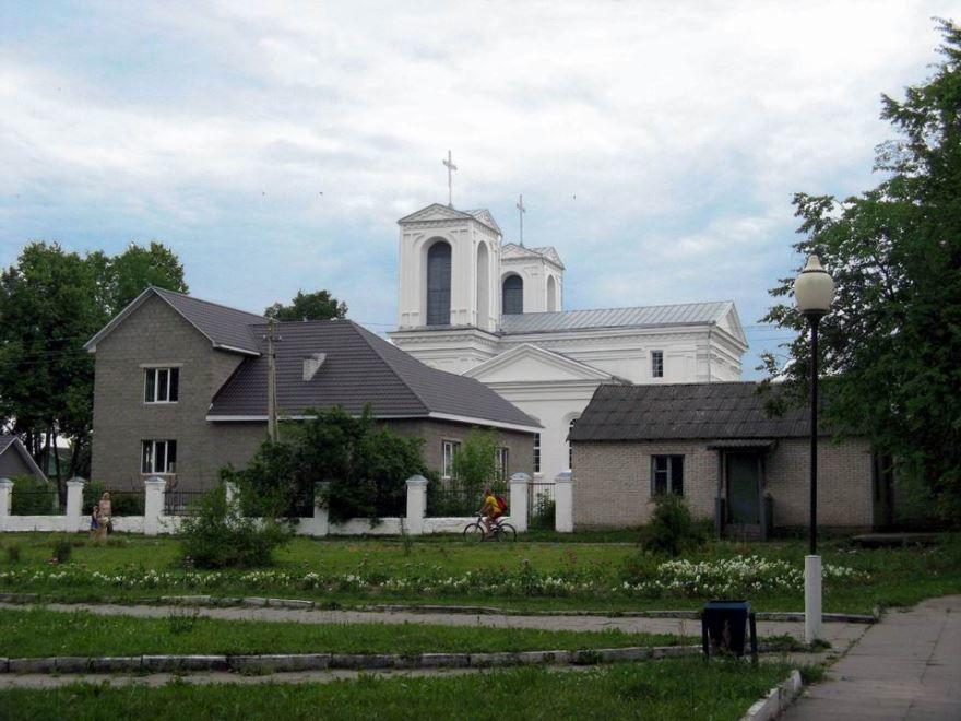Смотреть красивое фото город Лепель Белоруссия