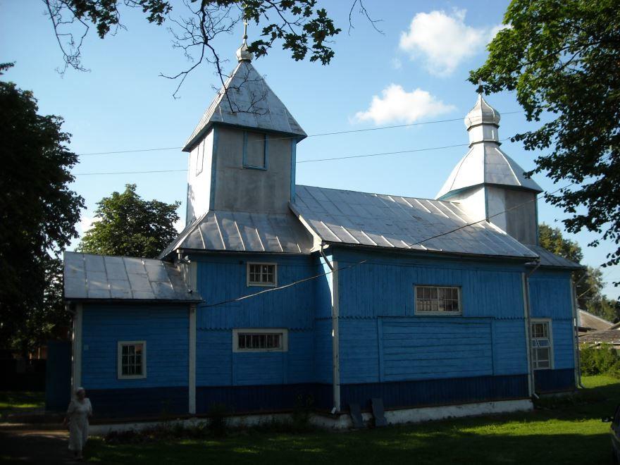 Церковь город Лепель