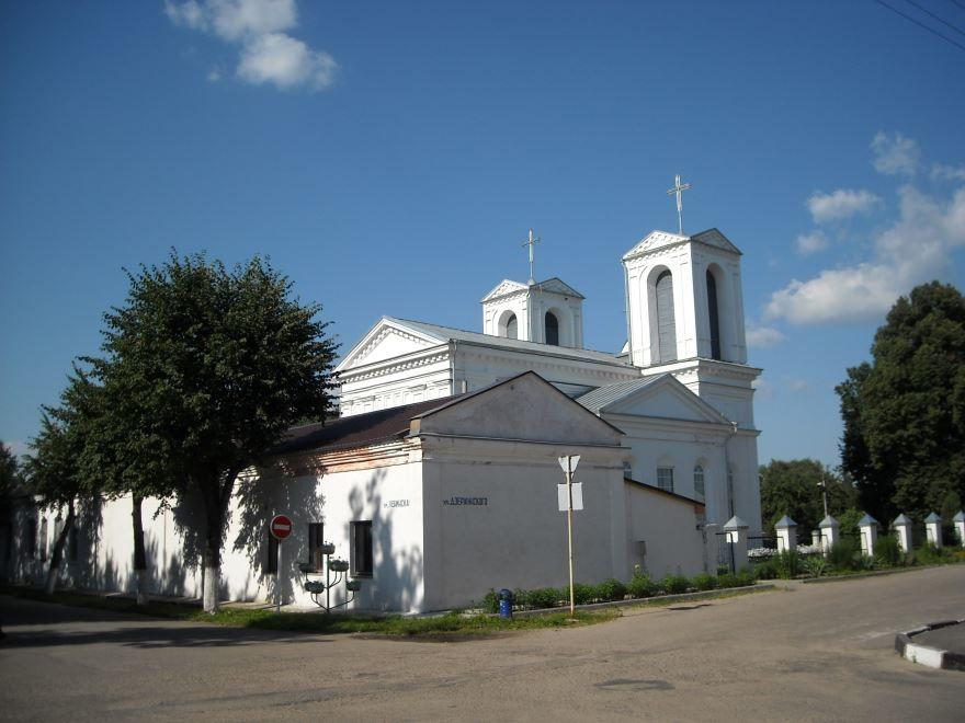 Костел город Лепель