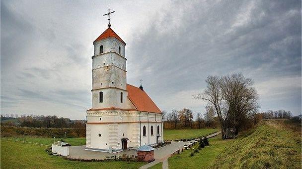 Церковь город Заславль
