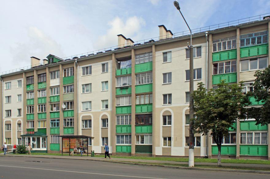 Улица Карла Маркса город Дзержинск