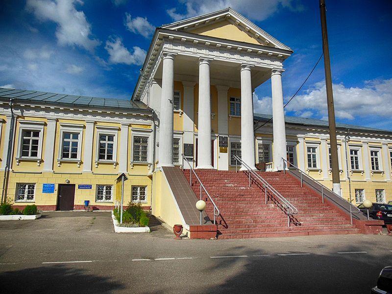 Ансамбль бывшей резиденции графов Тышкевичей город Воложин