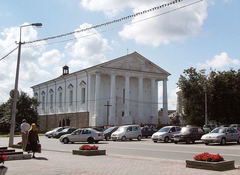 Скачать онлайн бесплатно лучшее фото Костел Святого Иосифа город Воложин в хорошем качестве
