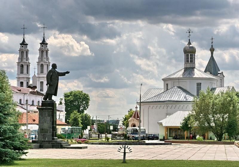 Смотреть красивое фото город Ошмяны 2018 Белоруссия