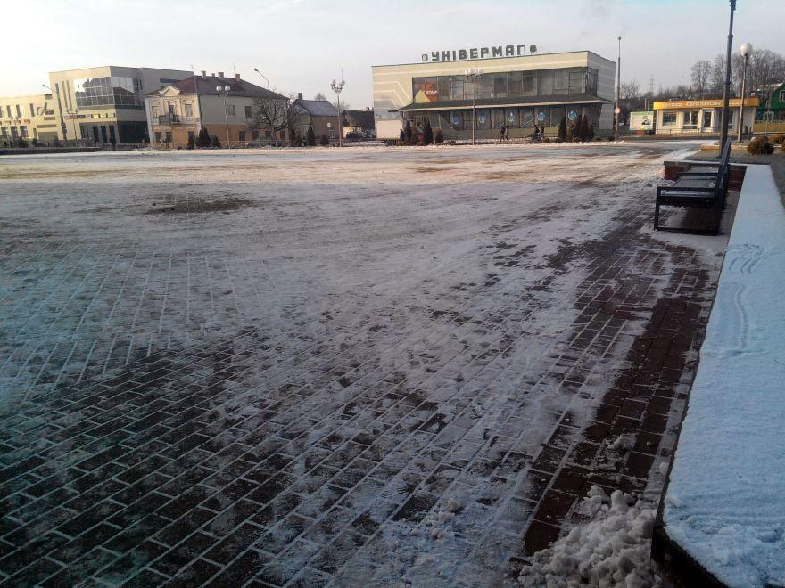 Главная площадь города Ошмяны