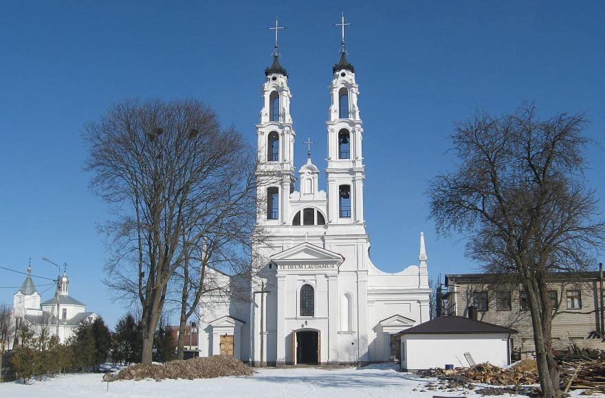 Католический костел город Ошмяны