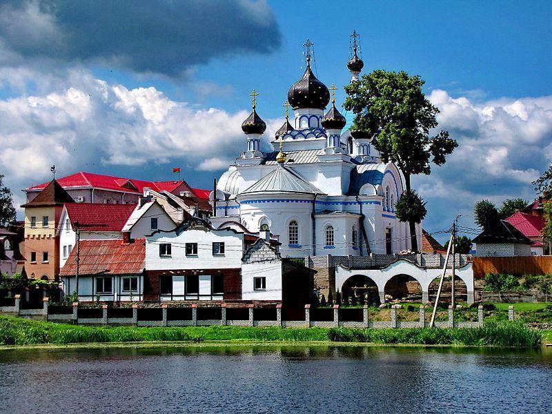 Церковь Святого Николая город Поставы