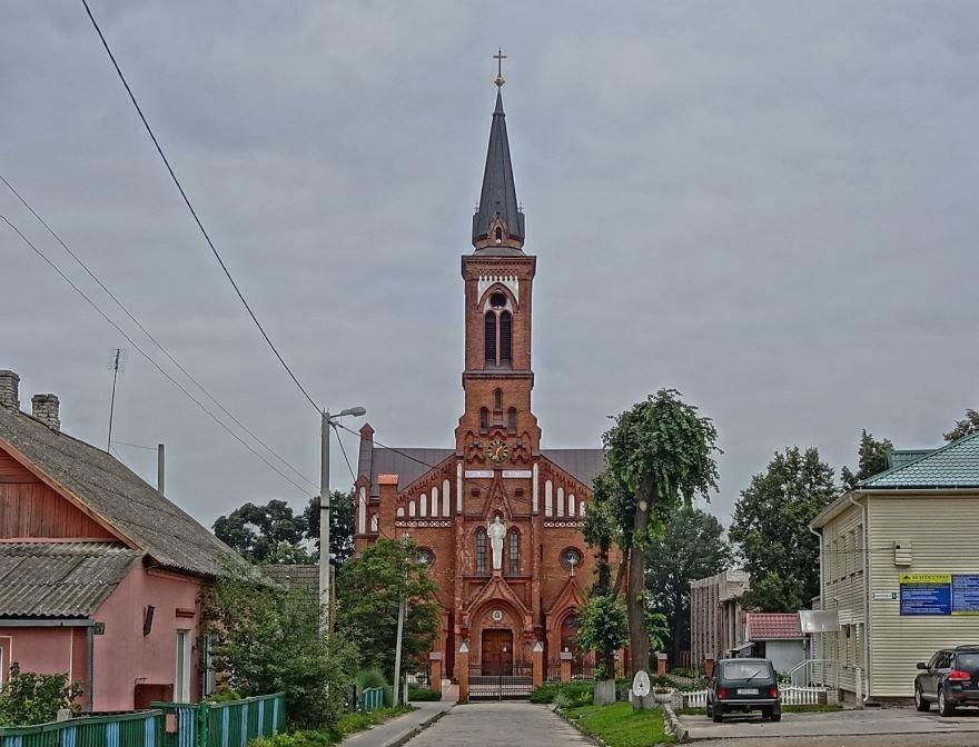 Костёл Святого Антония Падуанского город Поставы Белоруссия
