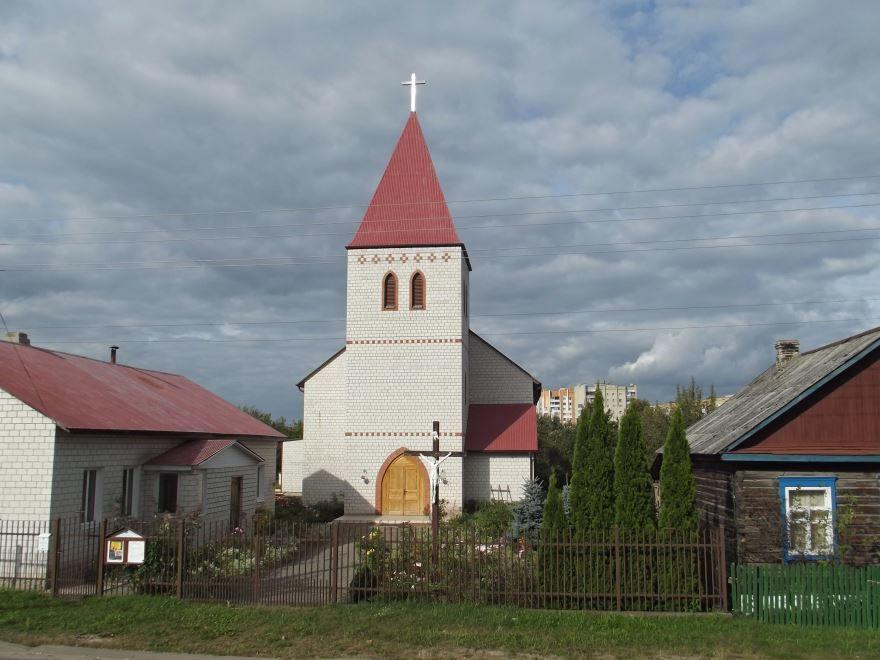 Католический храм город Калинковичи