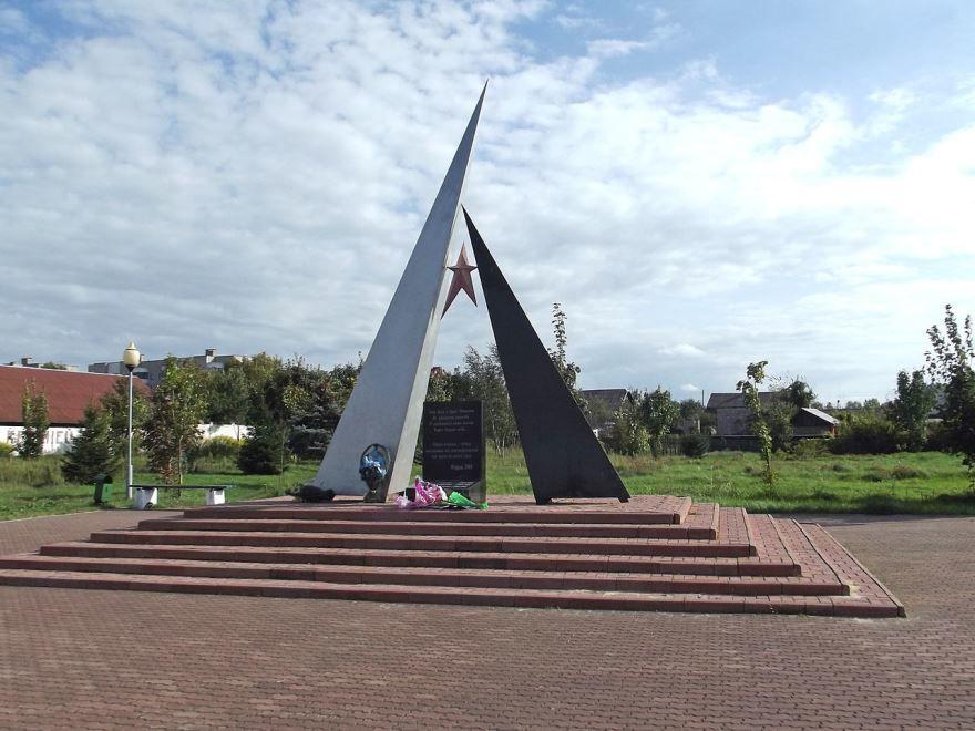 Памятник павшим в Афганистане город Калинковичи