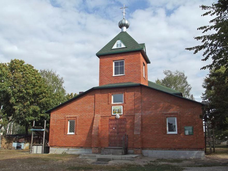 Успенская церковь город Калинковичи