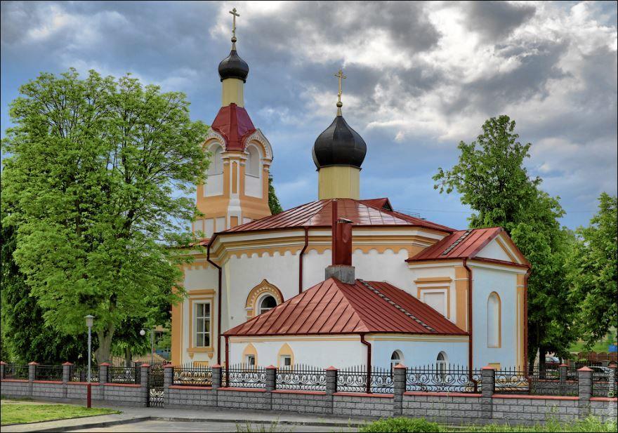 Церковь город Волковыск Белоруссия