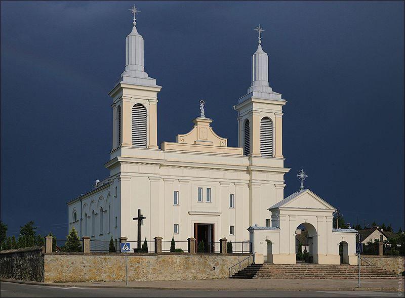 Кастел Святого Вацлава город Волковыск