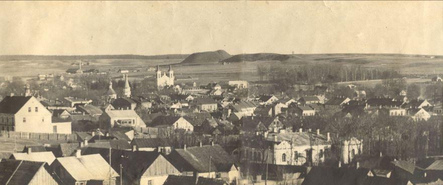 Старинное фото город Волковыск