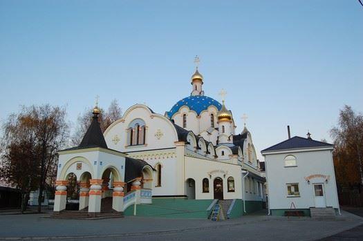Церковь в честь иконы Божией Матери город Логойск