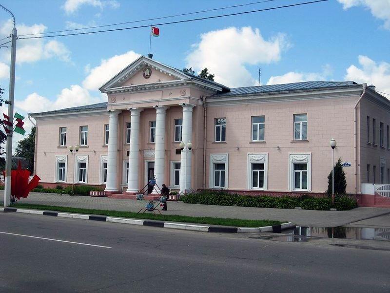 Смотреть красивое фото город Быхов Белоруссия
