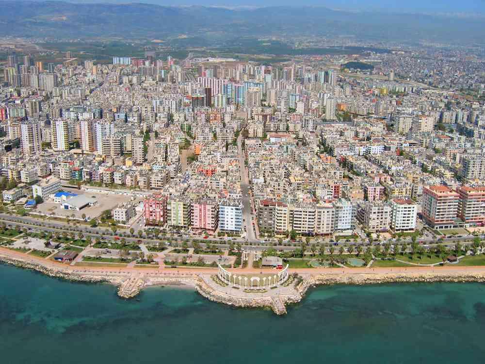 Город Мерсин Турция