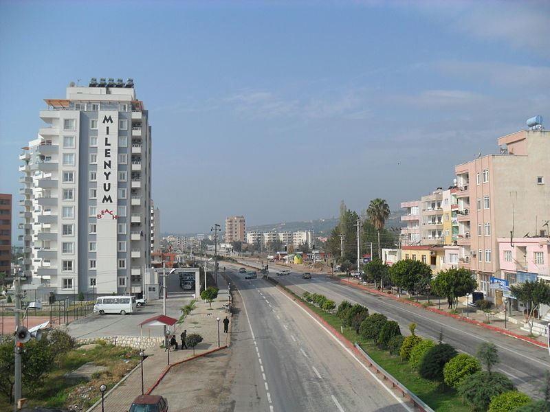 Город Мерсин 2018 Турция