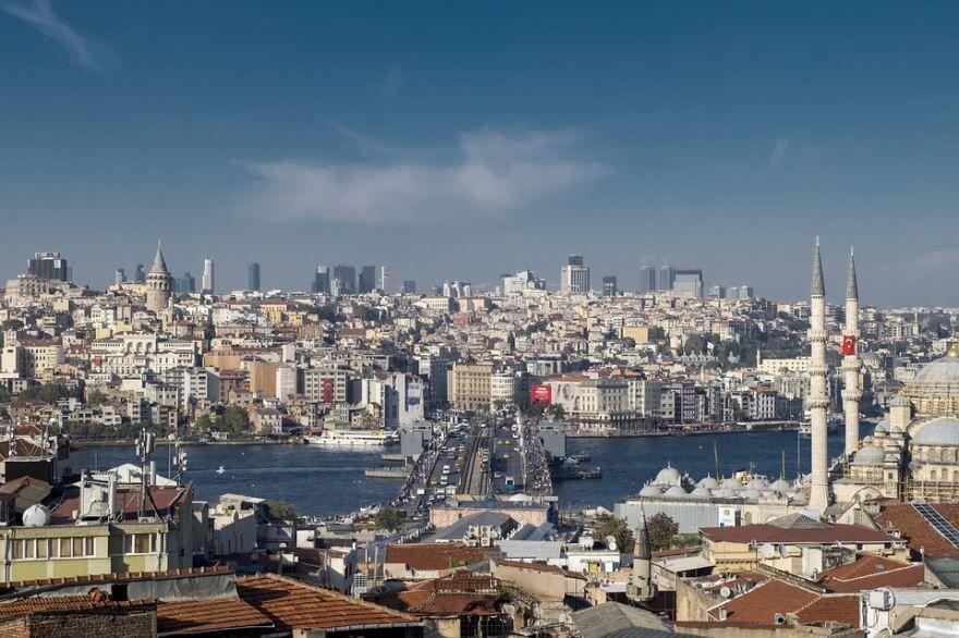 Фото город Стамбул
