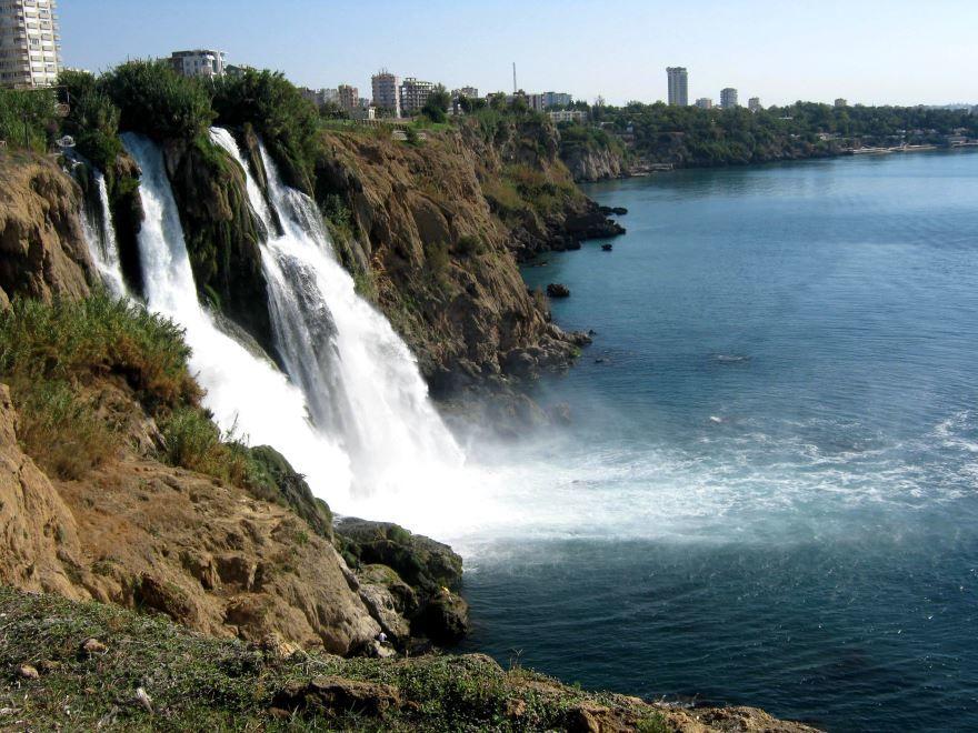 Дюденский водопад город Анталья 2019