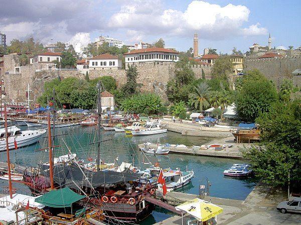 Фото город Анталия Турция