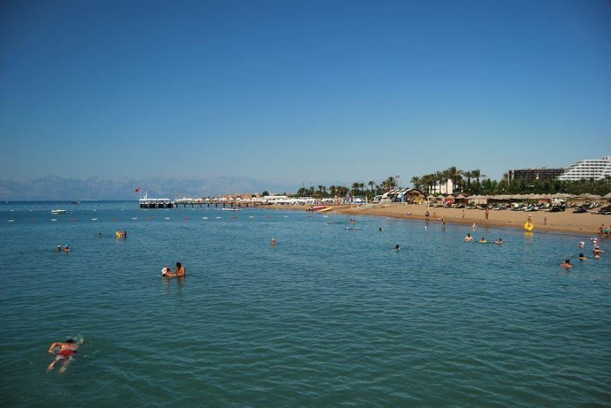 Смотреть красивое фото море вода в Анталии