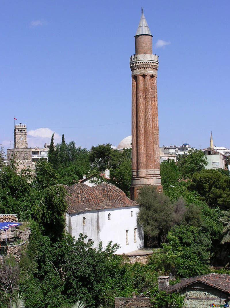 Мечеть город Анталия Турция