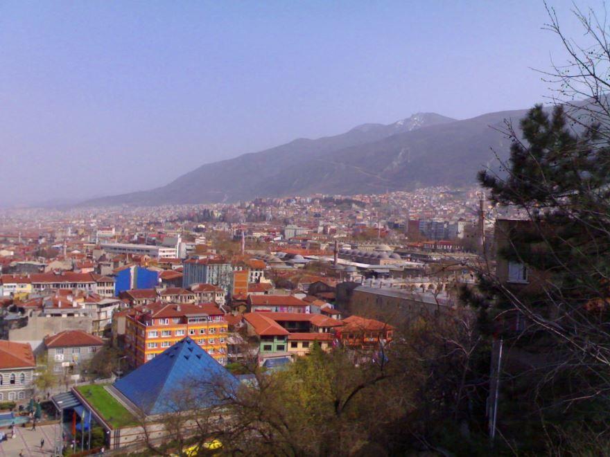 Панорама города Бурса 2018