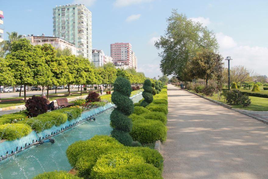 Город Адана Турция