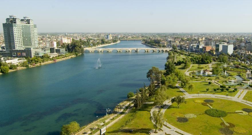 Город Адана 2019 Турция
