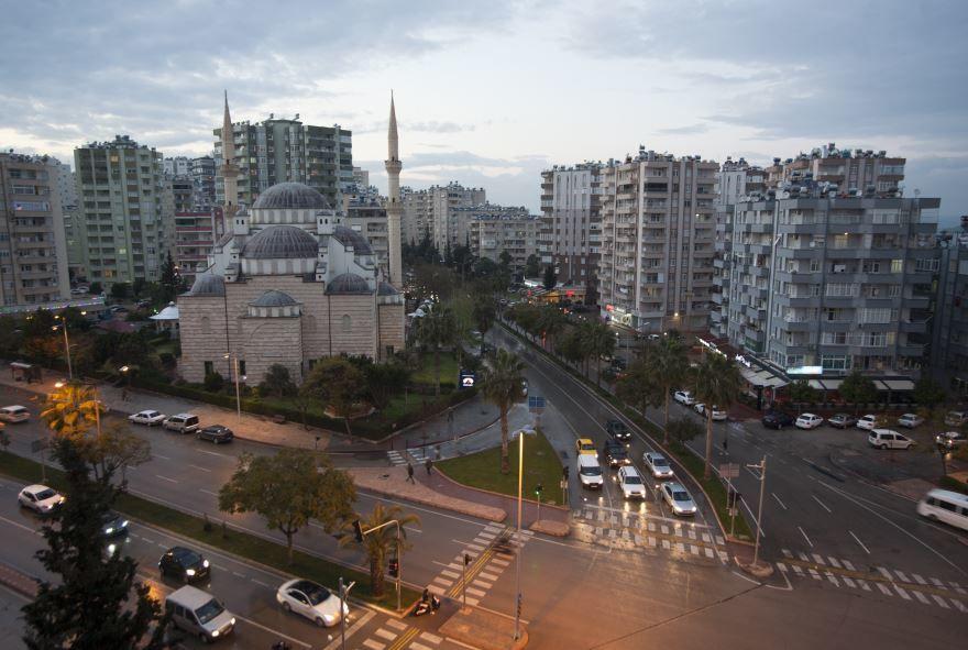 Вид на город Адана 2019