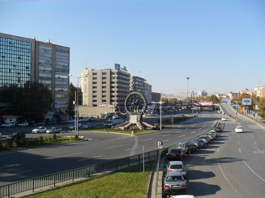 Город Анкара Турция