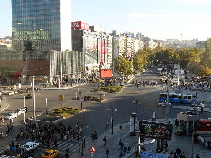 Панорама города Анкара 2018