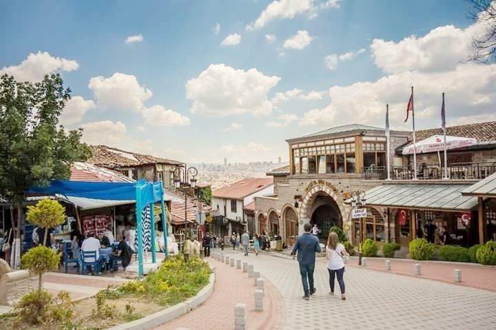 Прогулки город Анкара фото