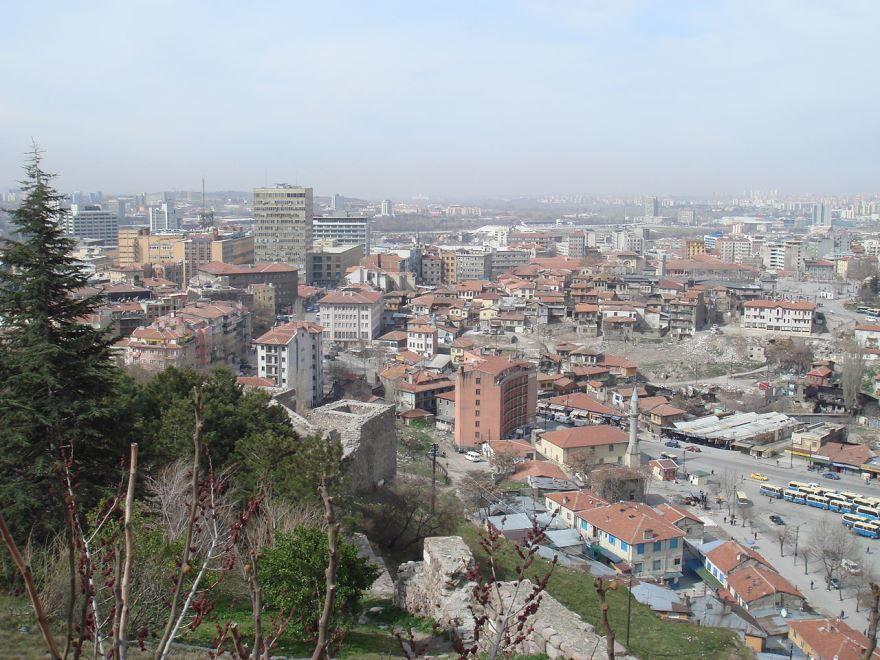 Вид на город Анкара 2018