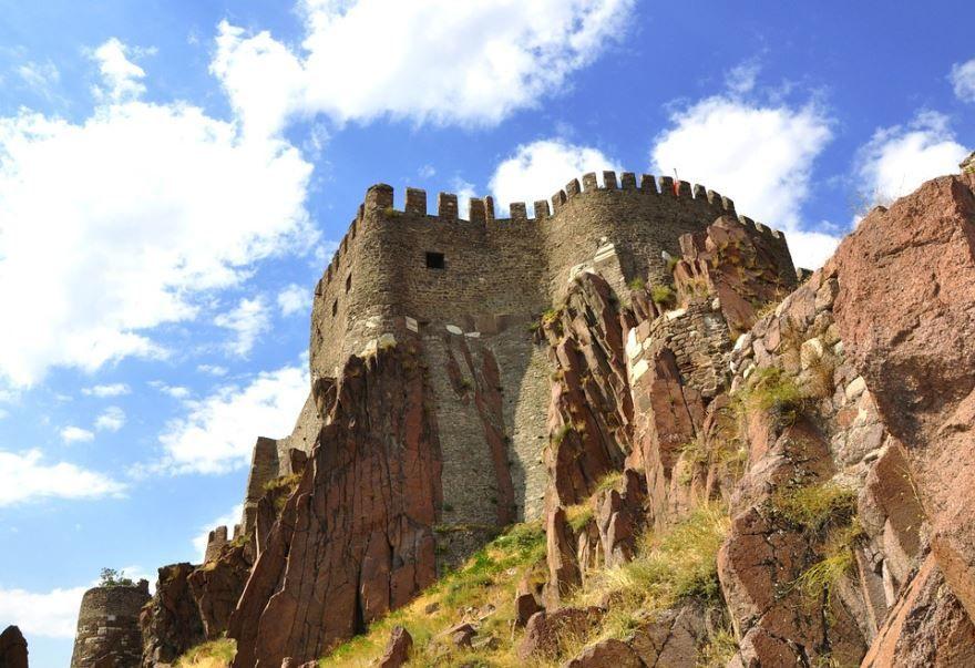 Замок город Анкара Турция