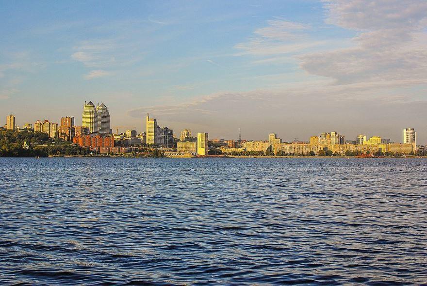 Смотреть красивое фото город Днепр Украина