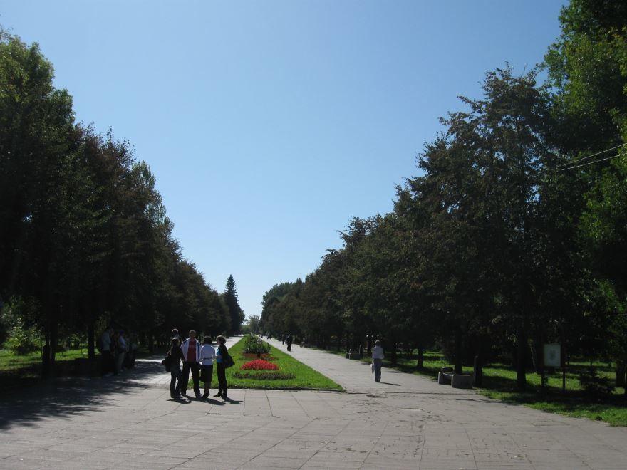 Центральный парк Культуры город Луцк