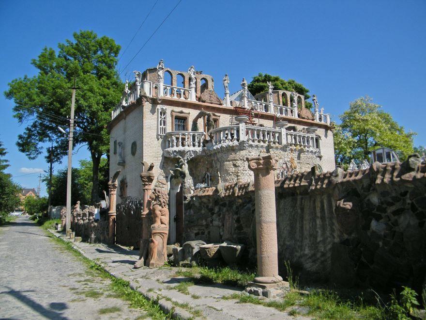 Дом Скульптора город Луцк Украина