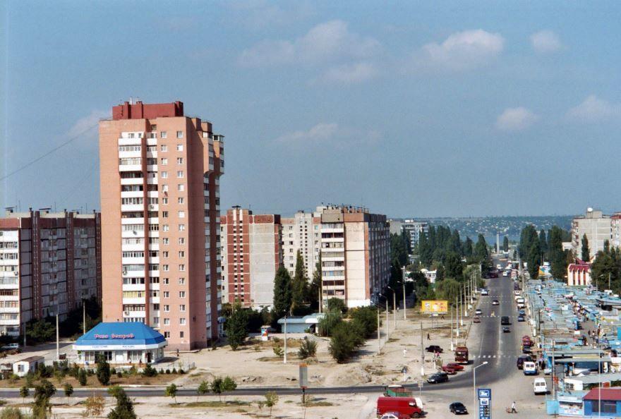 Вид на город Николаев 2019 Украина