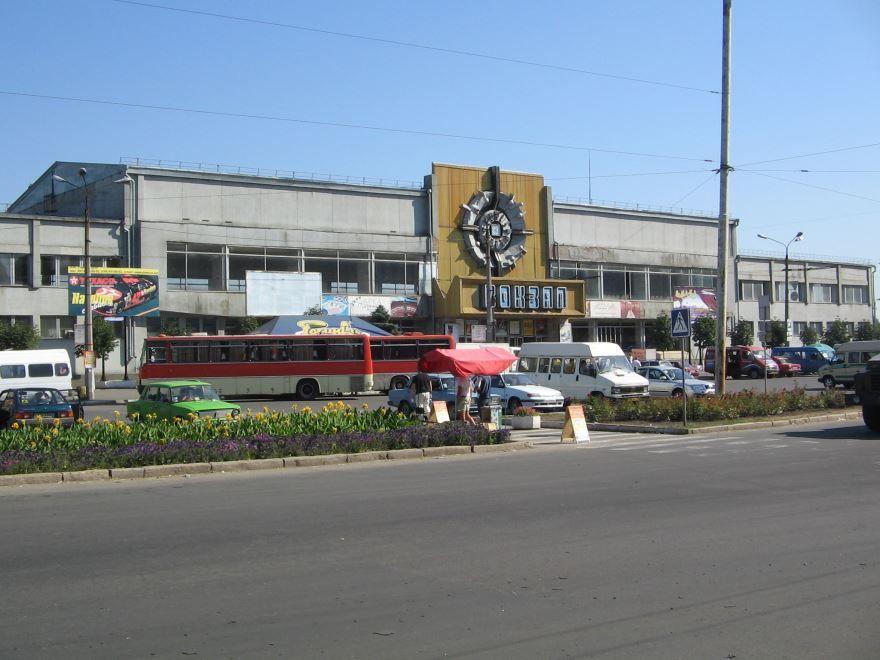 Железнодорожный вокзал город Николаев 2019