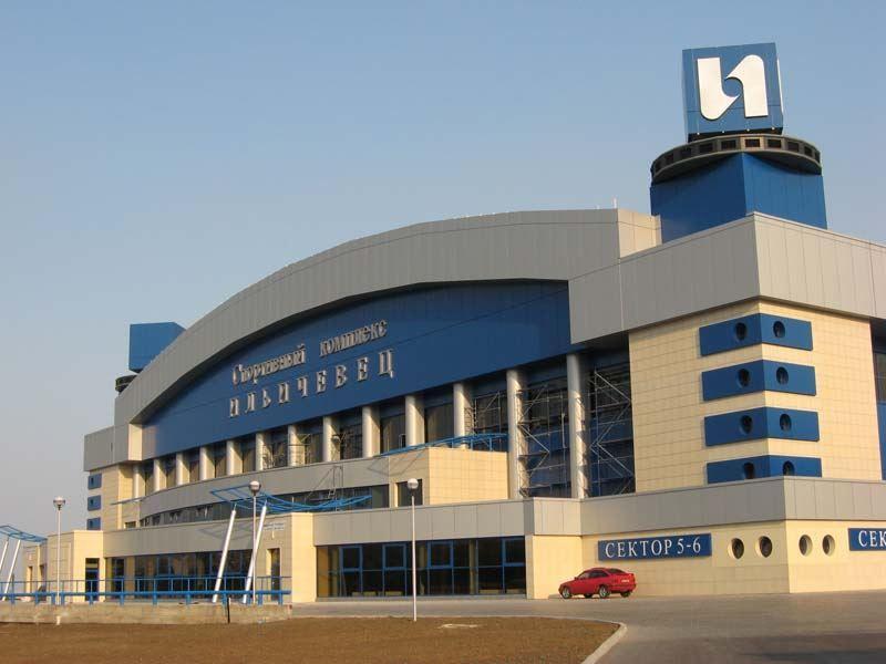 Спортивный комплекс город Мариуполь