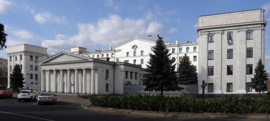 Дом советов город Луганск