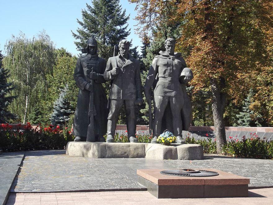 Мемориал Славы город Винница Украина